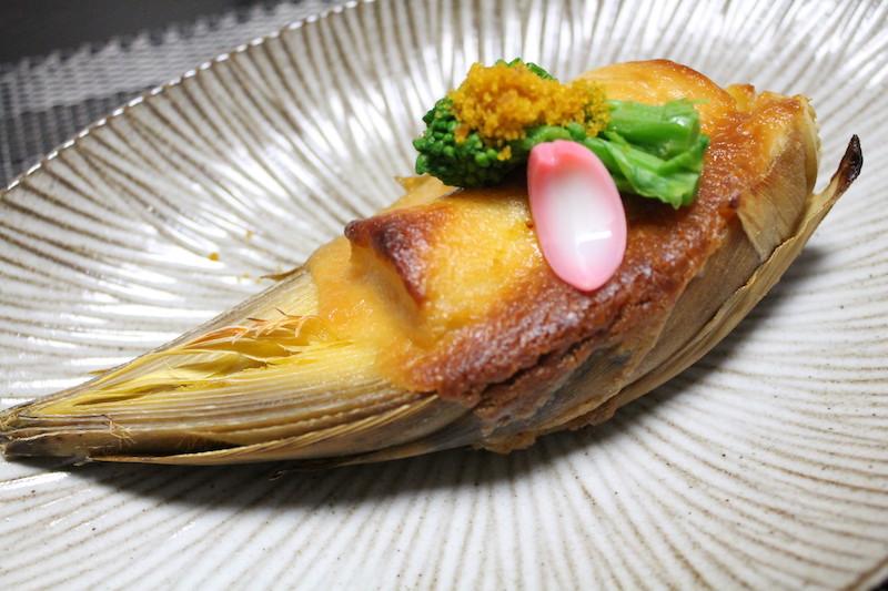 タケノコの味噌焼き